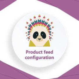 Product feed configuration WooCommerce