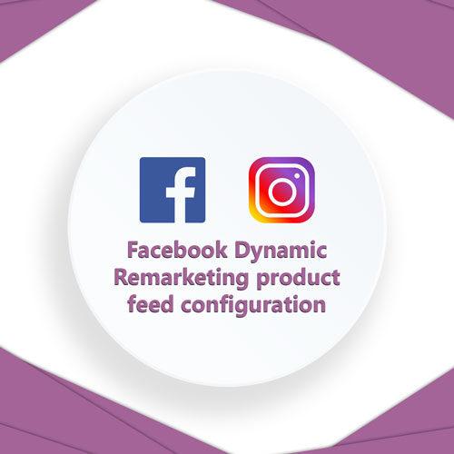 Facebook feed configuration WooCommerce