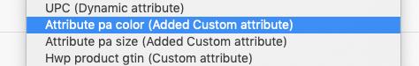 Added custom attribute