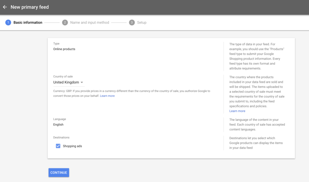Setting-up your first Google Shopping product feed - AdTribes io