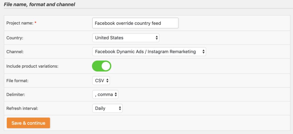 Facebook override feed